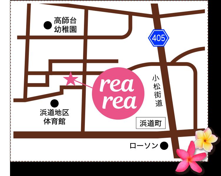 レアレア近隣マップ